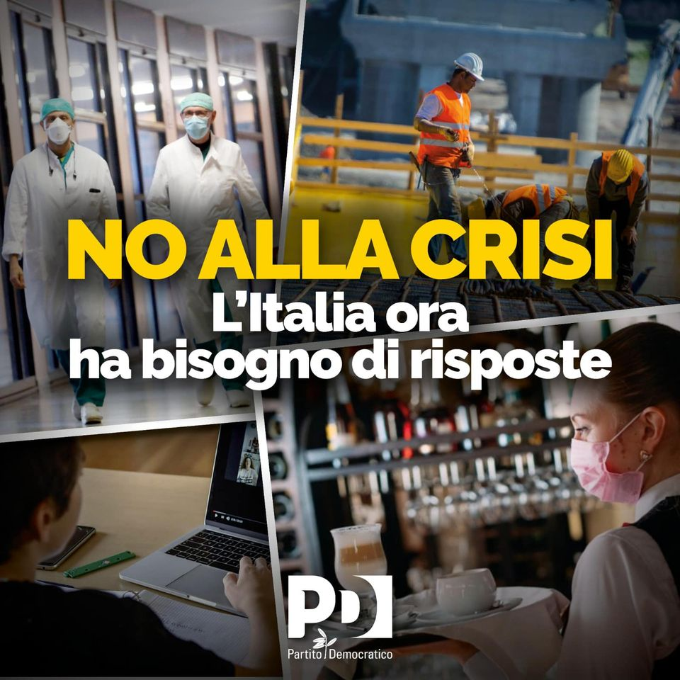 no alla crisi